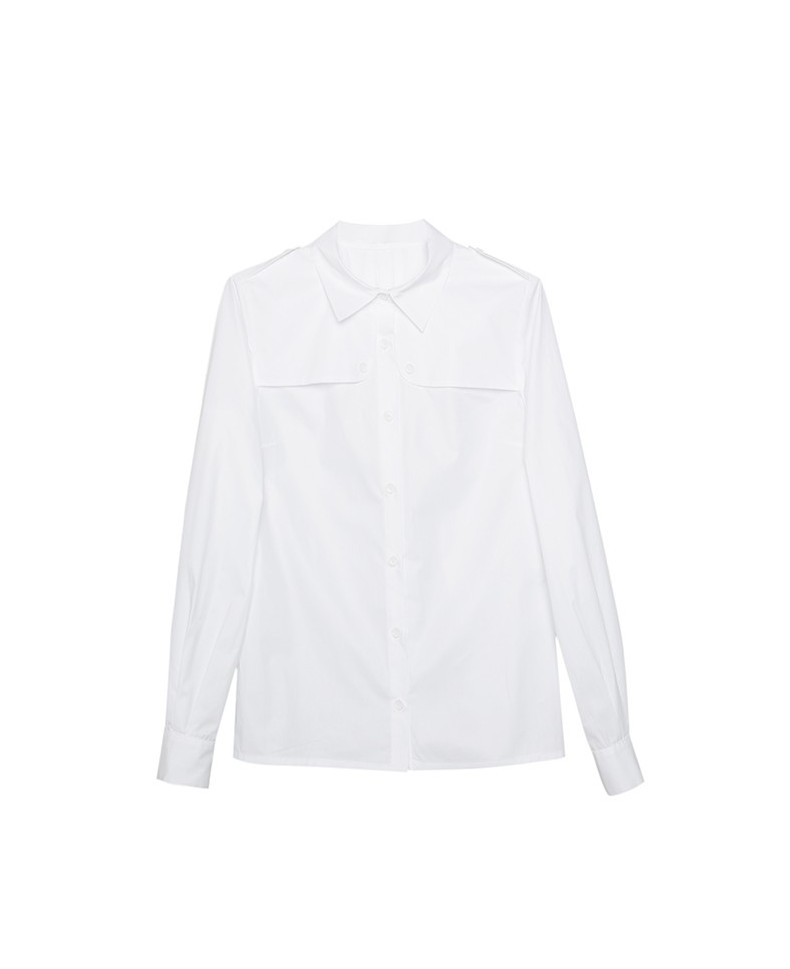 TRENCH MAYA SHIRT WHITE