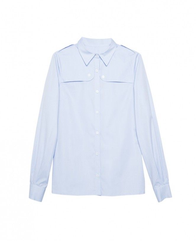 TRENCH MAYA SHIRT BLUE