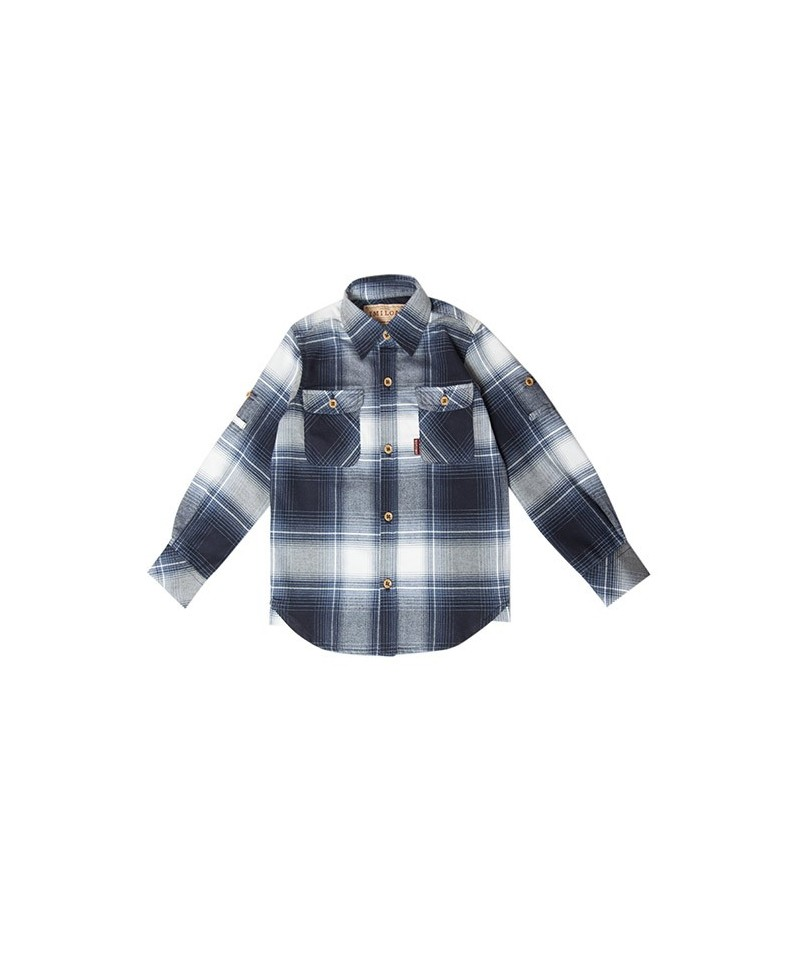 CAMISA BLUE CHECK NIÑO