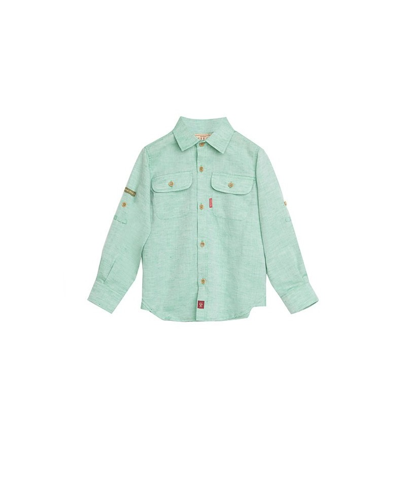 CAMISA WASHED GREEN