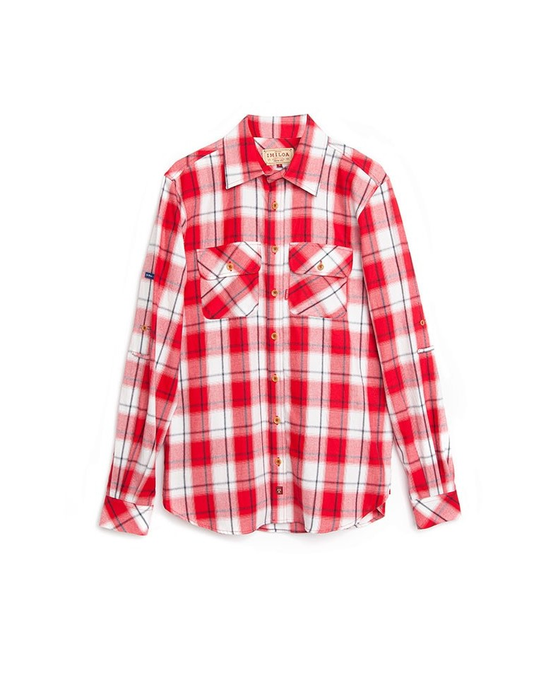 CAMISA RED & WHITE SCOTCH